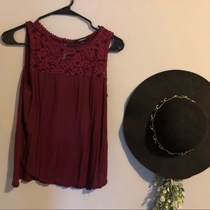 CUTE MAROON TANK TOP 3 FOR $25
